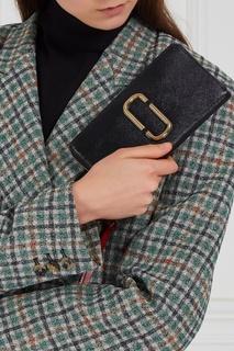 Черный кожаный кошелек Snapshot Marc Jacobs