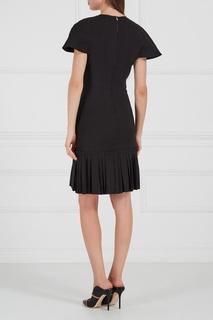 Льняное платье с воланом Isabel Marant