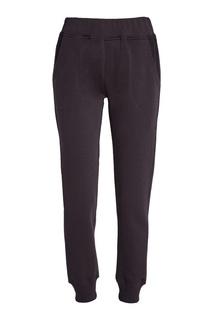 Фиолетовые брюки из хлопка Manouk