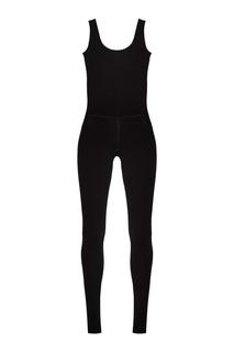 Черный спортивный комбинезон Manouk
