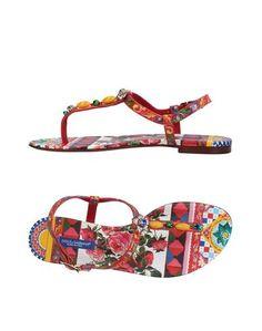 Вьетнамки Dolce & Gabbana