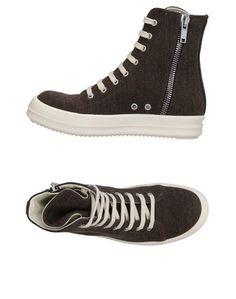 Высокие кеды и кроссовки Drkshdw BY Rick Owens