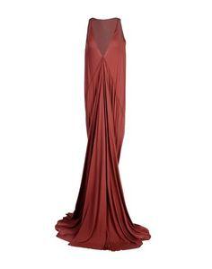 Длинное платье Rick Owens Lilies