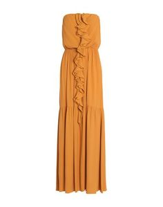 Длинное платье Gold Case
