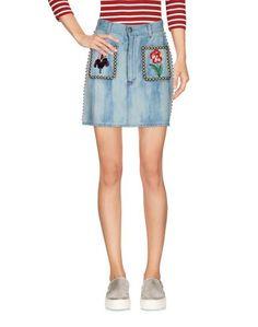 Джинсовая юбка Gucci