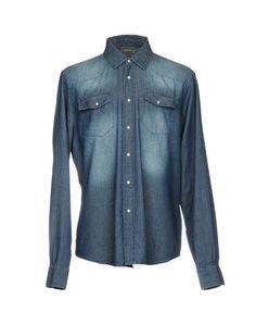 Джинсовая рубашка 40 Weft