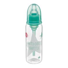 Бутылочка Happy Baby антиколиковая с силиконовой соской с рождения, 250 мл