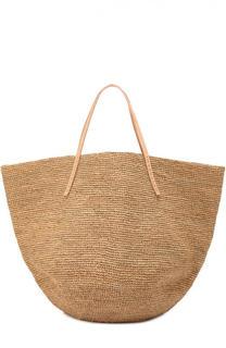 Плетеная сумка Kapity из рафии Sans-Arcidet