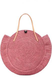 Плетеная сумка Nova из рафии Sans-Arcidet