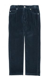 Вельветовые брюки прямого кроя Loro Piana