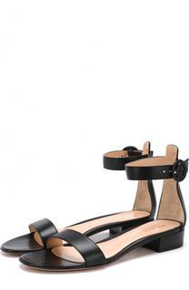 Кожаные сандалии Portofino 20 с ремешком Gianvito Rossi