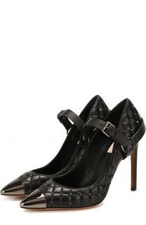 Кожаные туфли Rockstud Spike на шпильке Valentino