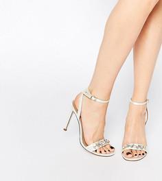 Босоножки на каблуке ASOS HIGH IN THE SKY Bridal - Белый
