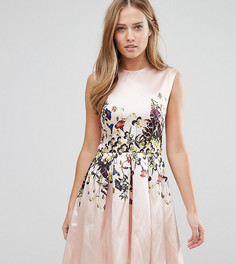 Платье миди с асимметричной кромкой Hope and Ivy Wild Garde - Мульти