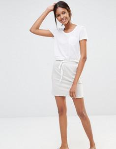 Трикотажная мини‑юбка One Day Tall - Серый