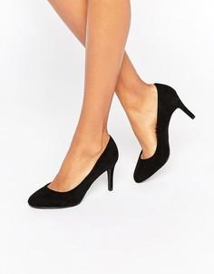 Туфли-лодочки на среднем каблуке New Look - Черный