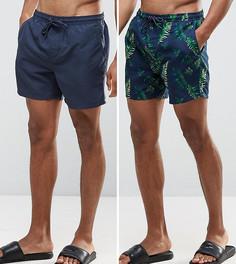 2 пары шортов для плавания Brave Soul - Темно-синий