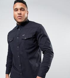 Рубашка в стиле вестерн Wrangler PLUS Heritage - Черный