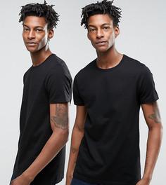 Две футболки Edwin - Черный