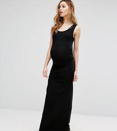 Платье макси без рукавов Isabella Oliver - Черный