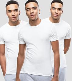 3 белые футболки для дома Original Penguin - Белый