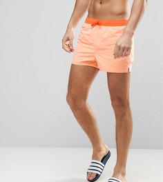 Короткие оранжевые шорты для плавания ASOS TALL - Оранжевый
