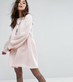 Свободное трикотажное платье Rokoko - Розовый