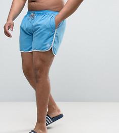 Голубые шорты для плавания Duke PLUS - Синий