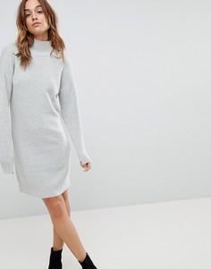 Платье-джемпер b.Young - Серый
