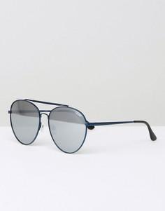 Солнцезащитные очки‑авиаторы в металлической оправе Quay Australia Lickety - Черный