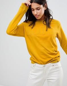 Свитер с принтом Blend She - Желтый