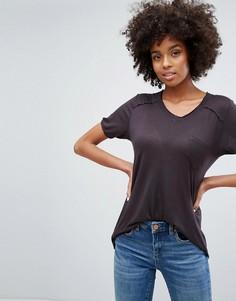 Свободная футболка Blank NYC - Черный