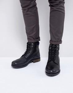 Черные ботинки на шнуровке KG Kurt Geiger Rayn - Черный