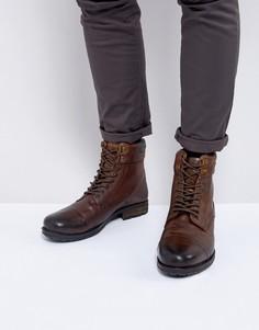 Светло-коричневые ботинки на шнуровке KG Kurt Geiger Rayn - Рыжий