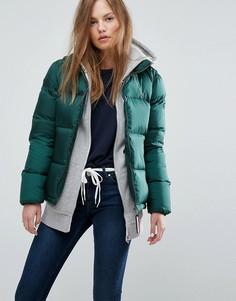 Дутая куртка Tommy Hilfiger Denim - Зеленый