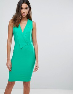 Платье-футляр миди Paper Dolls - Зеленый