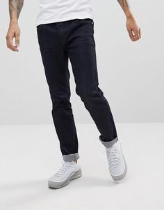 Темные джинсы узкого кроя WeSC Eddy - Синий