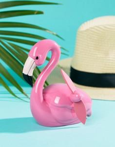 Пляжный вентилятор с дизайном фламинго Sunnylife - Мульти