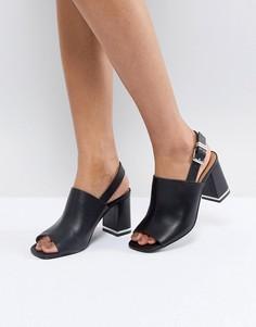 Босоножки на каблуке ASOS TIFFY - Черный