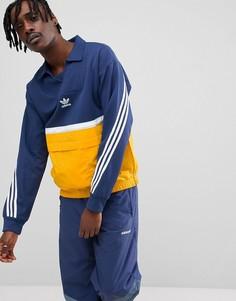 Темно-синяя спортивная куртка adidas Originals Nova CE4811 - Темно-синий