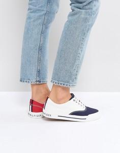 Кеды на шнуровке Tommy Jeans - Белый