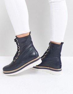 Походные ботинки Tommy Jeans - Темно-синий