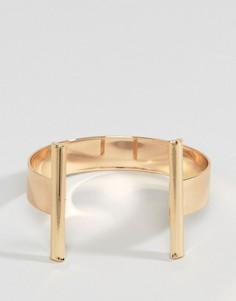 Лаконичный браслет-манжета Glamorous - Золотой