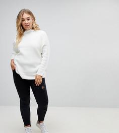 Черные выбеленные рваные джинсы скинни Urban Bliss Plus - Черный