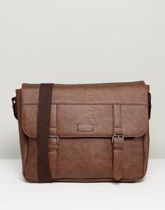 Коричневая сумка сэтчел New Look - Коричневый