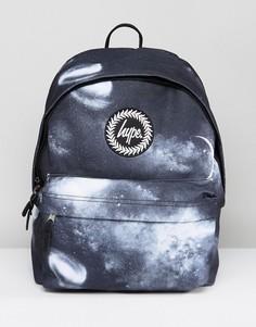 Черный рюкзак с космическим принтом Hype - Черный