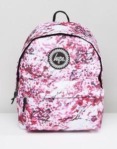Рюкзак с розовым принтом Hype - Розовый