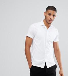 Рубашка с воротником в виде лацканов Noak - Белый