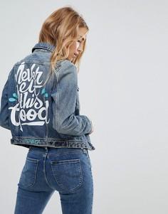 Джинсовая куртка Lee Conifer Ornamental - Синий