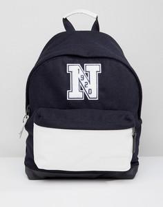 Рюкзак из фетра и кожи вместимостью 24 л Eastpak x New Era Wyoming - Черный